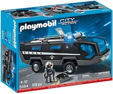 Playmobil 5564 City Action Police Tactical Command Vehicle with Lights and Sound