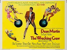 "The Wrecking Crew Dean Martin 16"" x 12"" Reproduction Movie Poster Photograph"