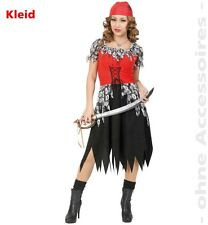 Fasching Horror Piratin Halloween Kostüm Kleid Gr. 40 NEU