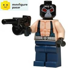 bat021 Lego DC Super Heroes Batman 7787 - Bane Minifigure with Tommy Gun - New