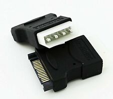 4 Pin Molex PC IDE Male to 15 pin SATA Female Power Adapter Convertor