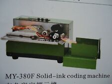 * MY-380F Solid-Ink Code Batch label printer & product date Coding machine