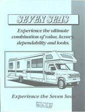 1991 Seven Seas Motorhome RV Chevrolet Ford Brochure r1385-U396WP