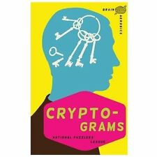 NEW - Brain Aerobics Cryptograms by National Puzzlers' League