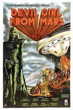 DEVIL GIRL FROM MARS UFO Vintage Movies Repro Rolled CANVAS PRINT 24x36 in.