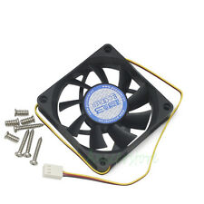 70mm x 15mm 3pin Cooler Cooling Fan For PC CASE CPU VGA Chipset Replacement