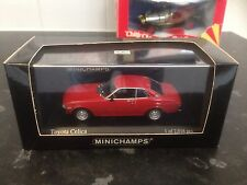 Minichamps Toyota Celica Red 1975 TA22/TA23 MIB Ltd Ed 1:43 Rare