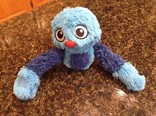 Plush Emirates Fly With Me Monsters Blue Camus Blanky Buddy