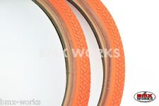 "Kenda K55 Freestyle 20"" x 1.75"" Skinwall Tyres Orange - Sold In Pairs"