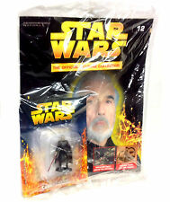 Star Wars Deagostini Count Dookur Die-cast Figurine figure Magazine Sealed