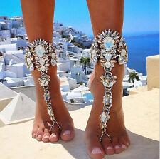 Fashion Women Chain Anklet Ankle Bracelet Barefoot Sandal Beach Foot Jewelry HOT