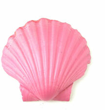 Large Barbie Pink Sea Shell Hair Clip Beach Ariel Little Mermaid Boho Vintage 88