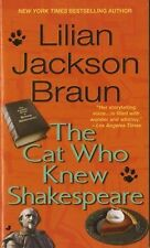 PAPERBACK THE CAT WHO KNEW SHAKESPEARE by Lilian Jackson Braun