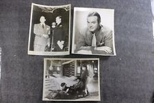 Vintage Movie Wire Still Photo Lot of 3 Bob Hope Bing Crosby Collectible