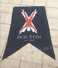 3X5ft Game of Thrones Winter bolton Family Banner Flag 90X150CM