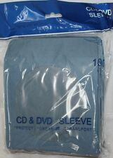 100 Blue Color CD DVD Paper Sleeve Envelopes