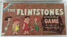 Vtg THE FLINTSTONES Stoneage Game TRANSOGRAM  1961 The Game That Rocked Bedrock
