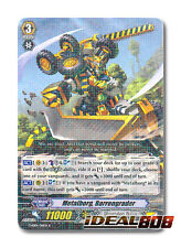 Cardfight Vanguard x 4 Metalborg, Barrengrader - G-EB01/011EN - R Mint