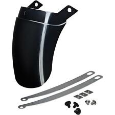 Show Chrome Tapered Fender Extension Black 52-749BK 41-8705 1405-0192