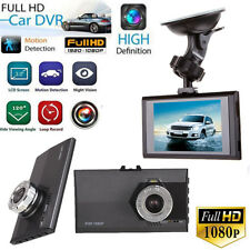 "3"" Full HD 1080P LCD Car DVR Dash Camera G-sensor Vehicle Video Cam Recorder"