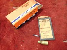 NOS Carter AFB 1957-62 Cadillac 1961-65 Buick Needle and Seat Package 25-343S