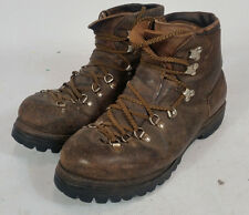 VTG VASQUE Hiking Mountaineering Boots Men's 10.5 Red Wing Vibram Italy USA