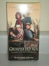 VHS MOVIE- GRUMPIER OLD MEN- JACK LEMMON, WALTER MATTHAU- USED- L41