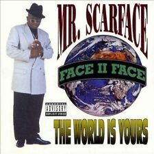The World Is Yours  by Scarface (CD, 1980 RAP-A-LOT)