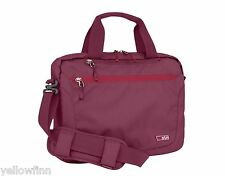 STM Swift Small Shoulder Messenger Bag, for 13 Inch Laptop and Tablet - Dark red