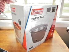 Coleman Party Pail Portable Charcoal BBQ Grill Camping Tailgating Parties NEW