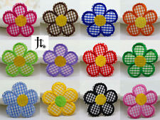 12pcs Embroidered Cloth Iron On Patch Sew Motif Applique Lattice cloth flowers