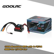 GoolRC S-120A Brushless ESC Electric Speed Controller w/SBEC for 1/8 RC Car G0N6