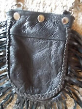 LEATHER~BELT~LOOP~PURSE~POUCH~BIKER CHICK~MOTORCYCLE~HARLEY~RIDER~HORSE~RIDER
