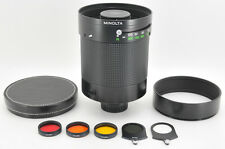 "*EXC+++* Minolta RF Rokkor 800mm f/8 Mirror Lens ""Very Rare"" from Japan #0357"