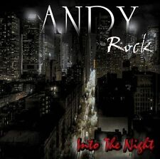 "ANDY ROCK ""INTO THE NIGHT"" Cd Wild Rose Toto Harem Scarem Aor"