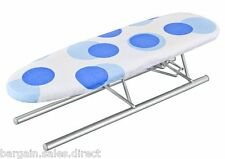 METALTEX JEANETTE TABLETOP MESH TOP 12 x 41cm FOLDING IRONING BOARD