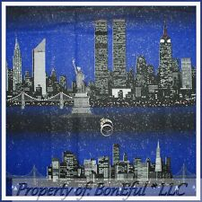 BonEful Fabric FQ Cotton 911 Twin Tower NYC New York CITY L Washington DC Scenic