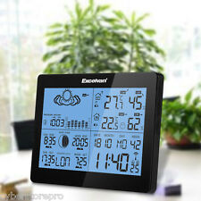 EXCELVAN Wireless Weather Station with Precision Forecast Temperature HumidityEU