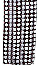 SCARF Black & White & Red BIG POLKA DOTS W/ LITTLE RED HEARTS