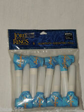 ~THE LORD OF THE RINGS ~8-BLOWOUTS  , BIRTHDAY CHILD   PARTY SUPPLIES