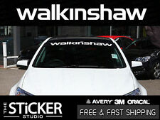 WALKINSHAW Performance windsheild Sticker Vinyl suit Holden VL VE VF HSV LS2