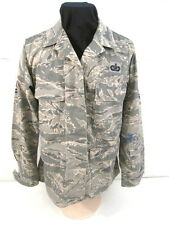 USAF Tiger Stripe Camouflage Woman's Combat BDU Coat Jacket or Shirt Size 10 Reg