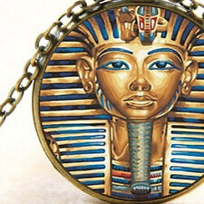 New Tutankhamun Egyptian Pendant Necklace, Pharaohs Burial Mask, King of Egypt