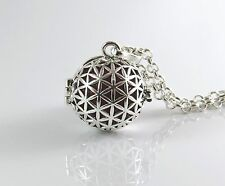 Seed of life harmony ball,Mexican bola,Flower of life pendant,sacred geometry