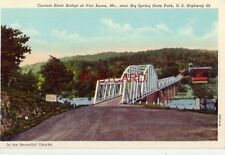 CURRENT RIVER BRIDGE, VAN BUREN, MO. U.S Highway 60 in the Ozarks