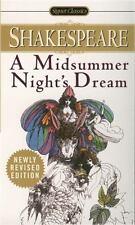 A Midsummer Night's Dream (Signet Classics), Shakespeare, William, Good Book