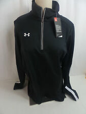 "Under Armour Women's ""Loose"" 1/4 Zip Jacket - Black US Size M NWT"