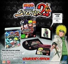 Ps3 gioco Naruto Shippuden Ultimate Ninja Storm 2 COLLECTOR 'S EDITION NUOVO & OVP