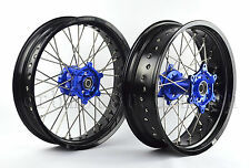 "YAMAHA WR250R WR 250R FRONT/REAR 17""/17"" SUPERMOTO WHEELS SET 2008-2015 I RMY06"