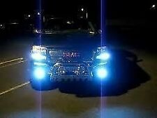 10,000K  Monster Ultra Blue Halogen Xenon HID Bulbs 893 Foglights Fogs